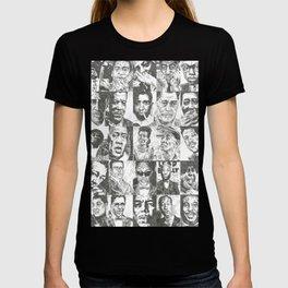 Blues Musicians Collection T-shirt