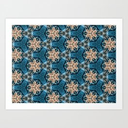 Snapdragon Synapse - Organic Abstract Pattern Art Print