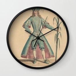 Delpech Francois Seraphin Laval dans le personnage dun FleuveAdditional Costumes de theatre de a Wall Clock