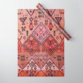 Epic Rustic & Farmhouse Style Original Moroccan Artwork  Wrapping Paper