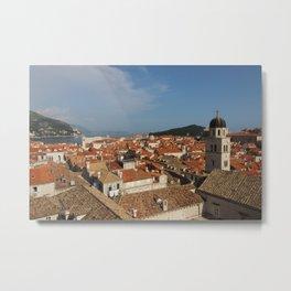 Croatian Rooftops Metal Print