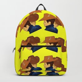 Ken Dolls Morphed Into Cowboys from Brokeback Mountain - Gay Movie Art. Backpack