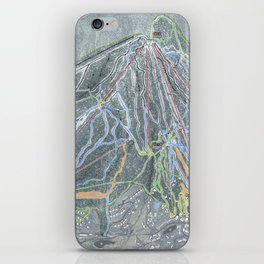 Stratton Resort Trail Map iPhone Skin