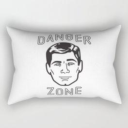 Danger Zone! Rectangular Pillow