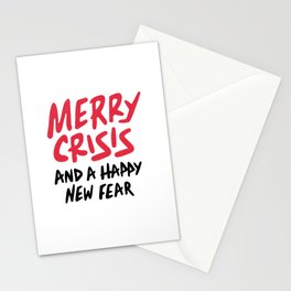 Merry Crisis And A Happy New Fear 2020 Stationery Cards