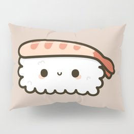 Cute prawn sushi Pillow Sham