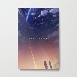 Kimi no na wa Your name Metal Print