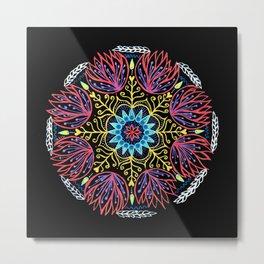 Calm Mandala Metal Print