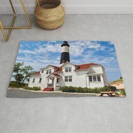 """Big Sable Point Lighthouse"" #2 Rug"