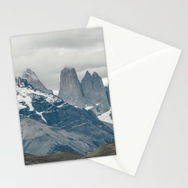 National Park Torres del Paine | Mountains Patagonia in Chile color travel photography Stationery Cards