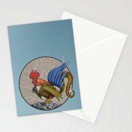 Nevine Blue Tailed Cockatrice Stationery Cards