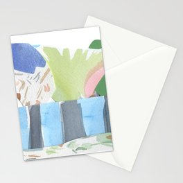 Collage of Trees Stationery Cards