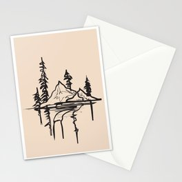 Abstract Landscpe II Stationery Cards
