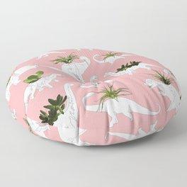 Dinosaurs & Succulents Floor Pillow