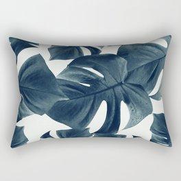 Monstera Leaves Pattern #1 #tropical #decor #art #society6 Rectangular Pillow
