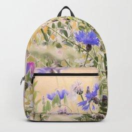 #Elegant #Beautiful #Wildflower #meadow #pattern Backpack