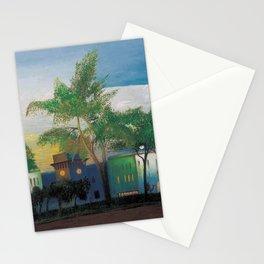 Desert Saharan Fortress, Twilight by Csontváry Kosztka Tivadar Stationery Cards