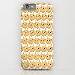 Dreidel Pattern iPhone Case