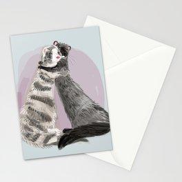 Minky Hugs #2 Stationery Cards