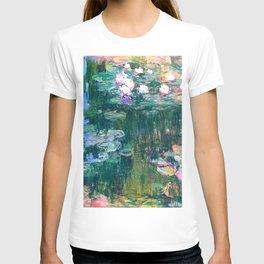 water lilies : Monet T-shirt