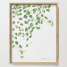 Golden Pothos - Ivy Serving Tray