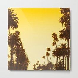 Palm Treess Metal Print