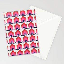 Reto shapes pattern no5 Stationery Cards