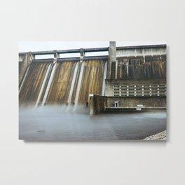 Norris Dam Metal Print