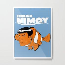 Finding Nimoy Metal Print