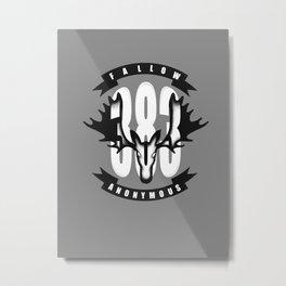 Fallow Anonymous Metal Print