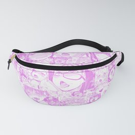 Pastel Ahegao Collage Fanny Pack