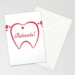 Dentist Dentistry Tooth Love Patients Dental Gift Stationery Cards