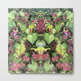 Garden Kaleidoscope II Metal Print