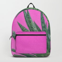 Hot Pink Succulent Backpack