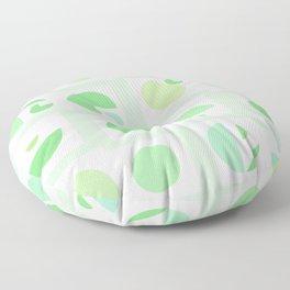 Mid century green Floor Pillow