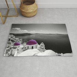 Santorini magenta Rug
