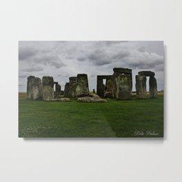 Stone Henge  Metal Print