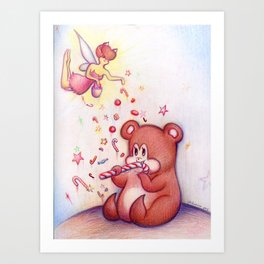 How to Keep a Beary Art Print