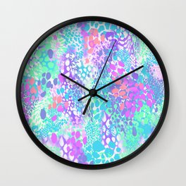 BUBBLE LEO Wall Clock
