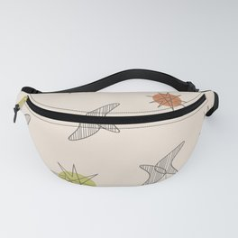 Midcentury Planets And Boomerangs 1 Fanny Pack