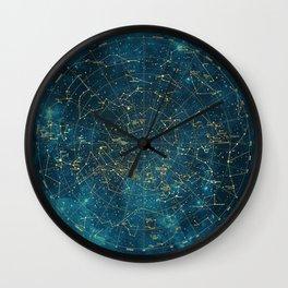 Under Constellations Wall Clock