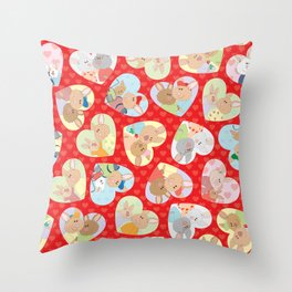 My Valentine Throw Pillow