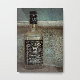 Jack Daniel's Whiskey Metal Print