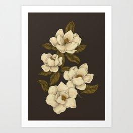 Magnolias Kunstdrucke