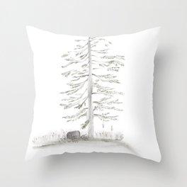 Brine Pine ・Salty Spruce Throw Pillow