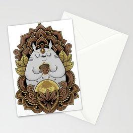 Holy nut Stationery Cards