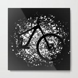 MTB Mountain Bike Cycling Cyclist Downhill Metal Print