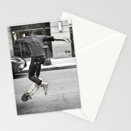 Mid-Air Skater Stationery Cards