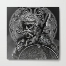 FATHER ODIN Metal Print
