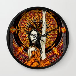BlackSun Wall Clock